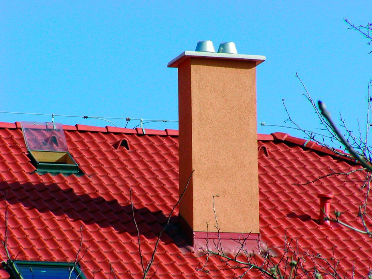 Дымоходы на крыше своими руками