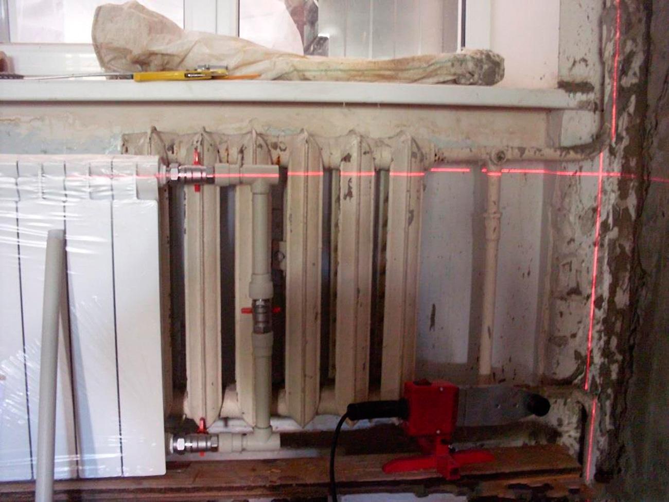 Замена труб отопления в квартире своими руками