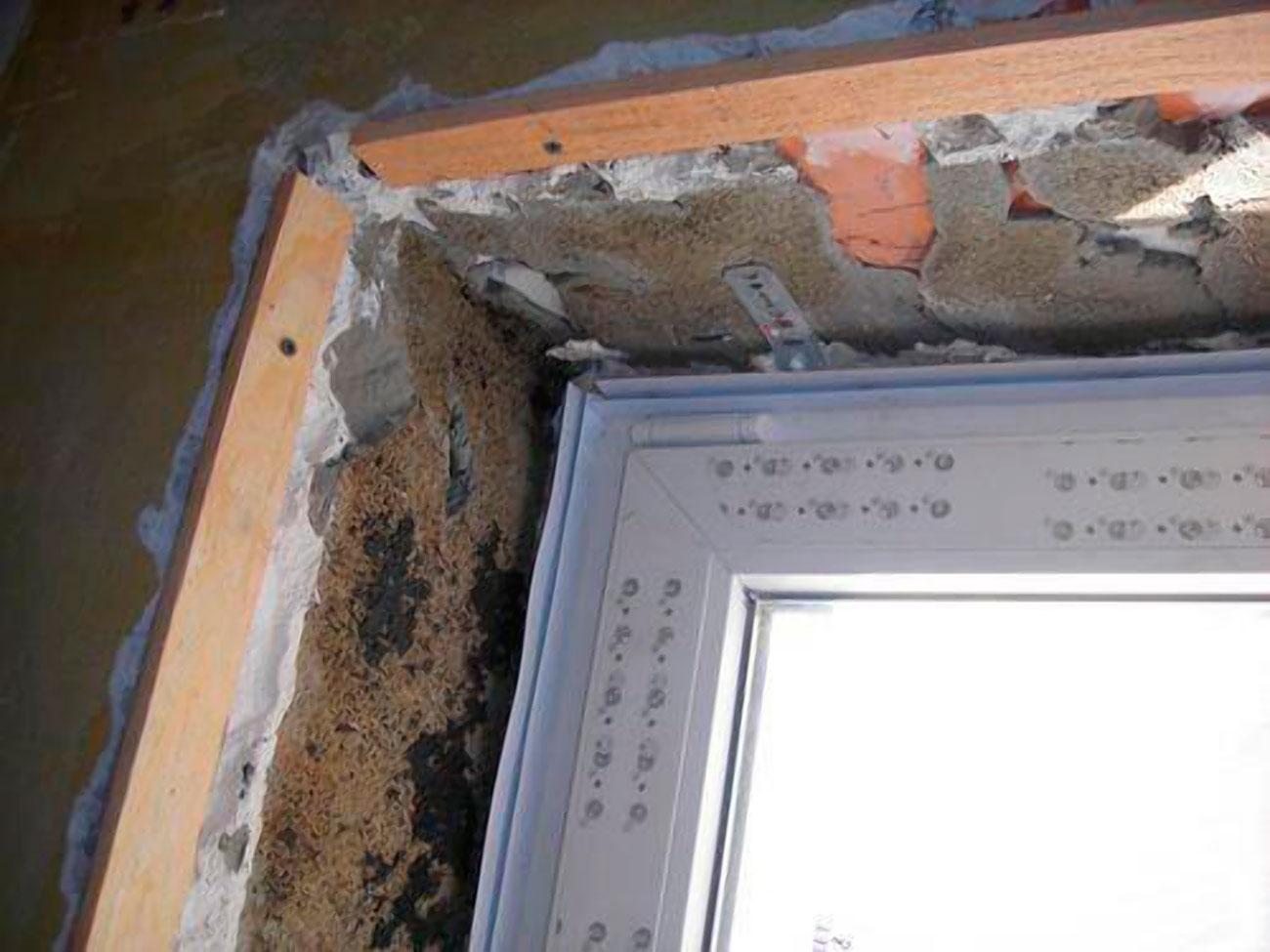 Откосы из гипсокартона: устройство оконных, дверных конструк.