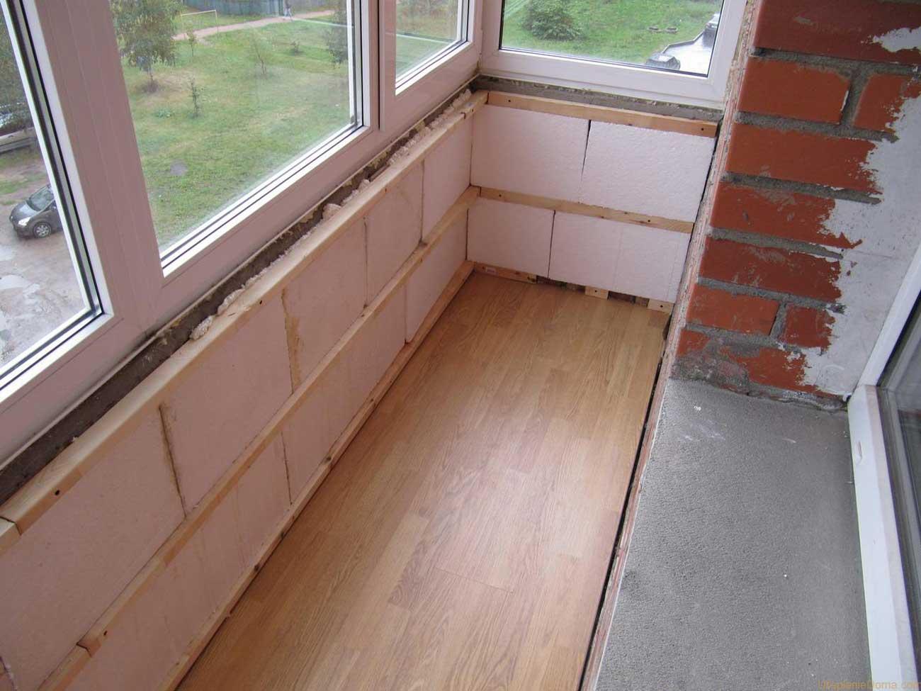 Утепление балкона изнутри своими руками blogremonta.